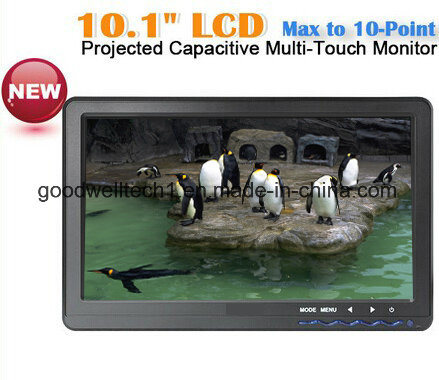 "Capacitive Multi Touch 10.1""TFT Monitor, Support Win 7/Win 8 OS"