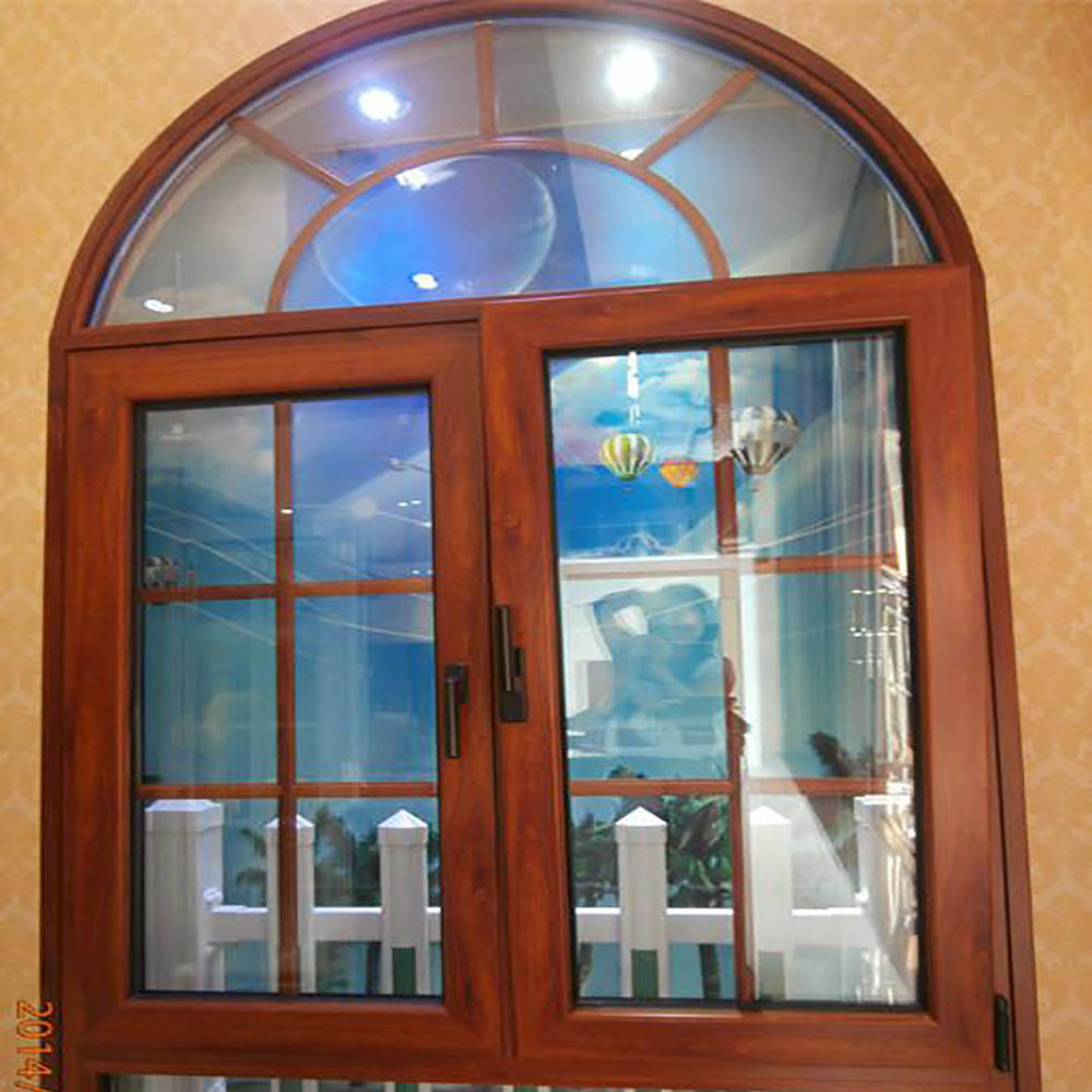 China Factory Price Aluminum Frame Window Designs Simple Arch Window China Aluminum Casement Window Aluminum Glass Window
