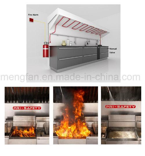 China Automatic Kitchen Hood Fire Suppression Systems China