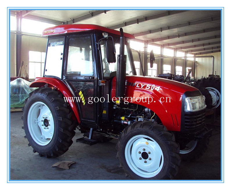 LZ304,30HP, 4WD mini garden tractors fit with 4in1 front