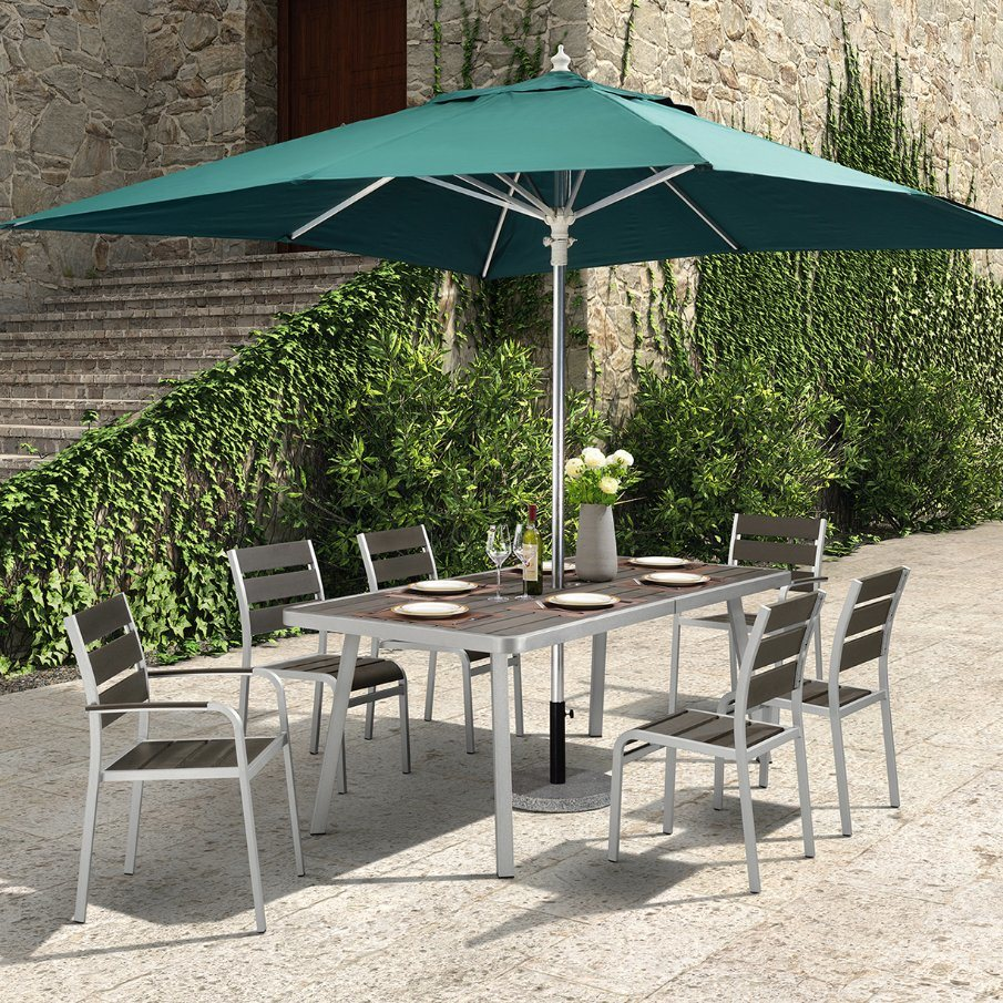 China Exclusive Classy Dining Furniture 7 Piece Patio Table And Chairs China Patio Furniture Outdoor Patio Furniture
