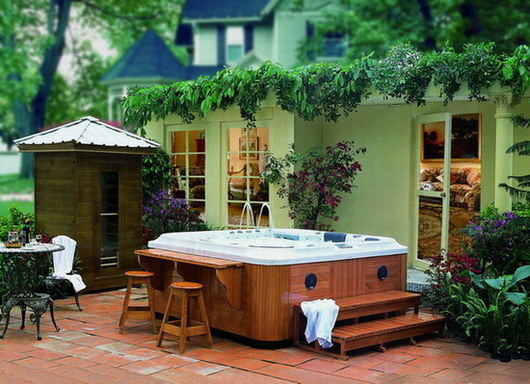 Jacuzzi J 838 Hot Tubs Outdoor Spa