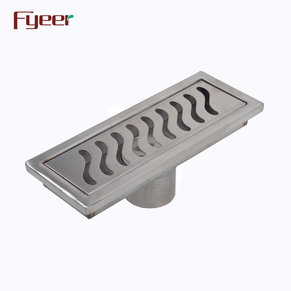 Stainless Steel Bathroom Long Linear