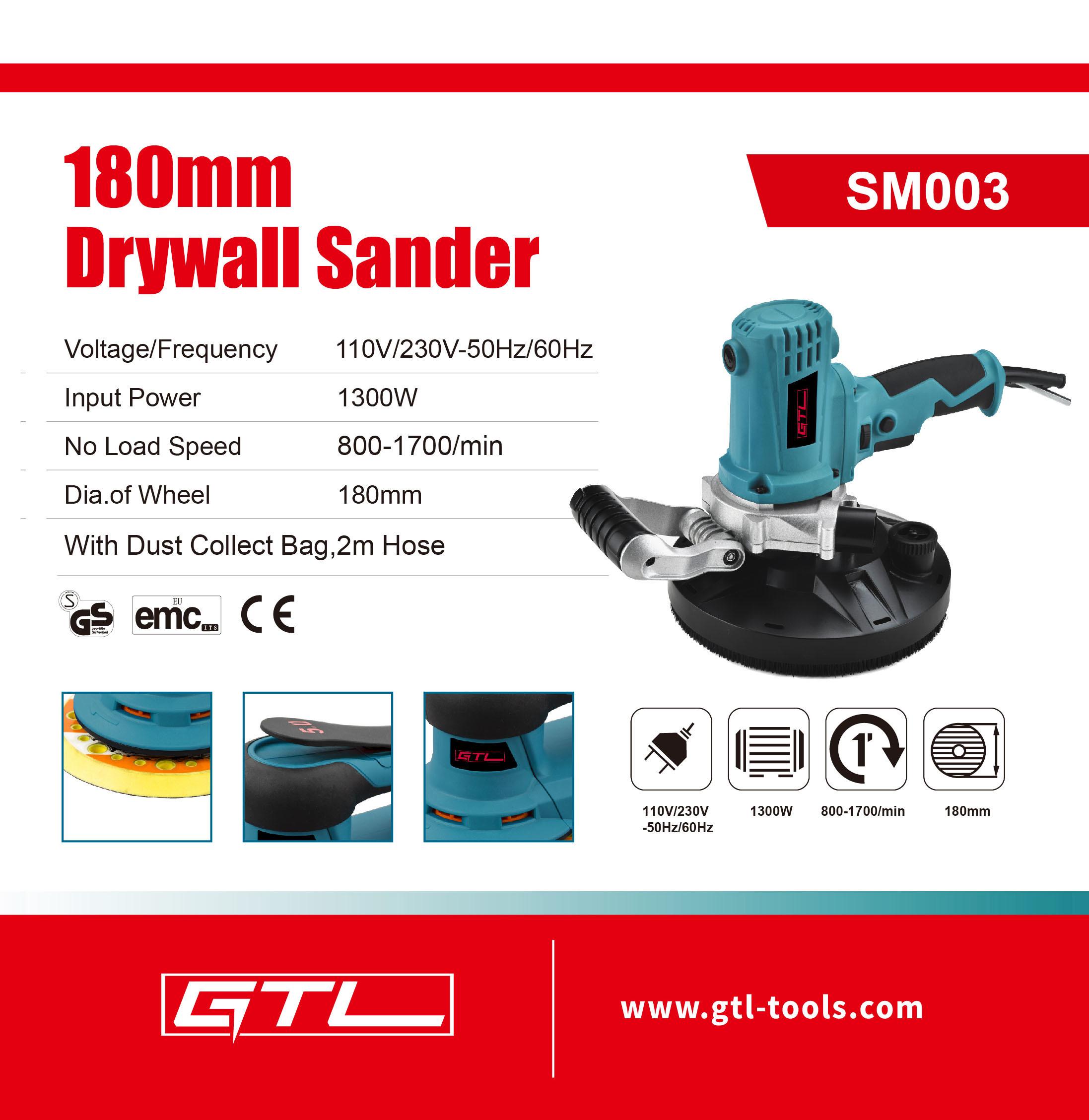 Wall Grinding Machine Portable Dry Wall Sander Tools