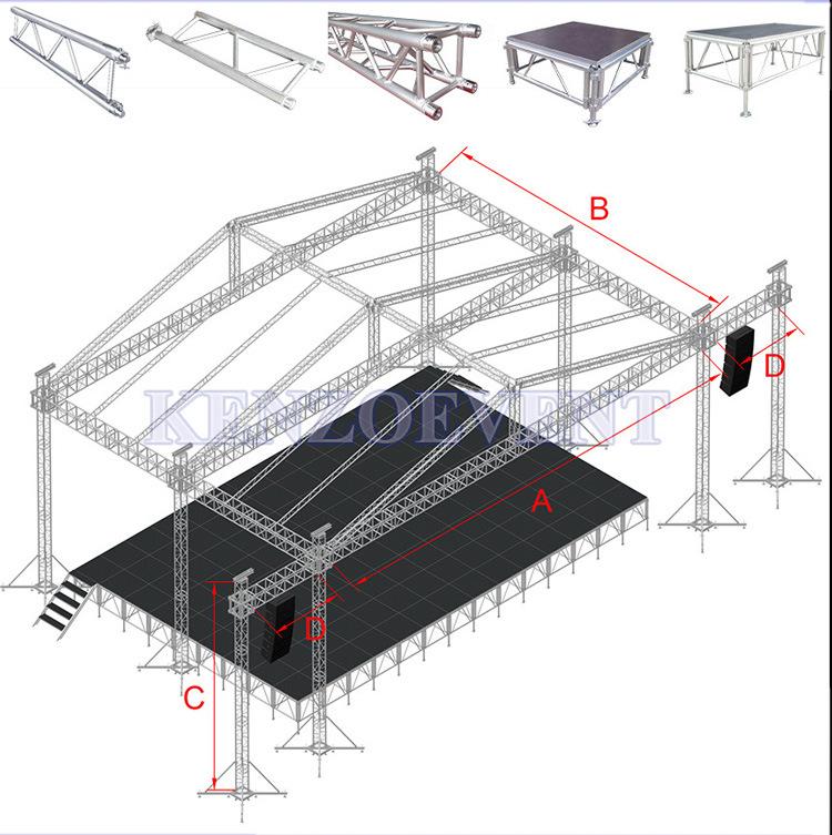 Truss Aluminum Lighting System