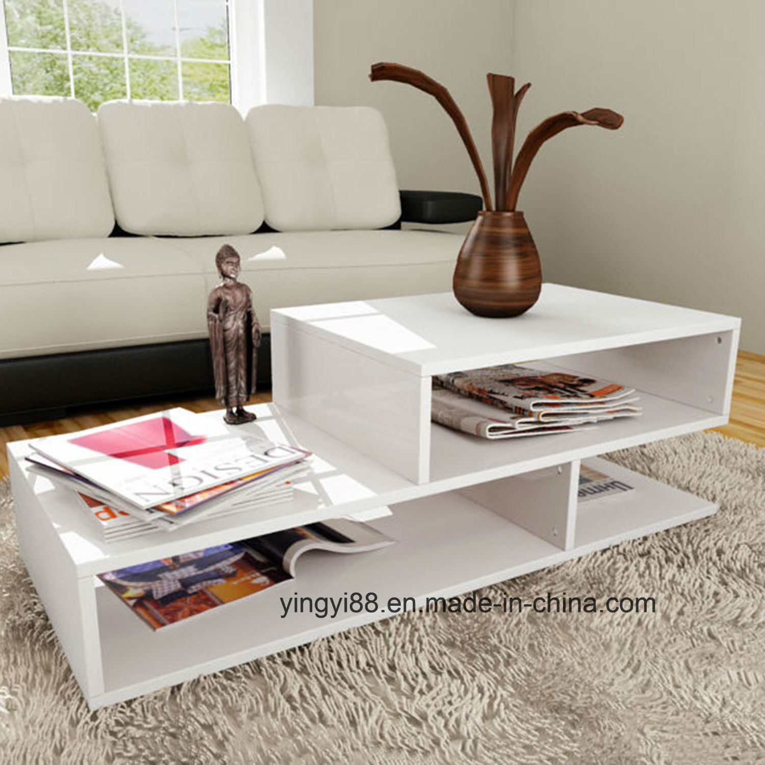 - China Living Room Home Furniture Modern Design Acrylic Coffee