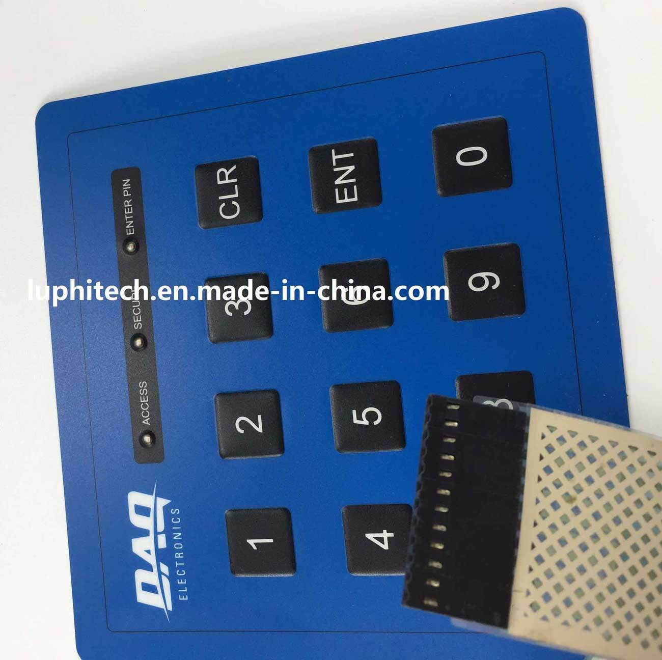 Customizing Membrane Keypad Print Overlay Flexible Printed Circuit pictures & photos
