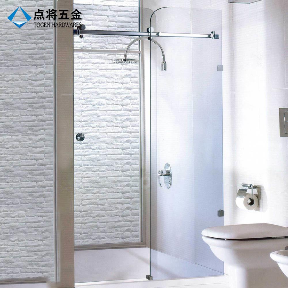 China Customized a Whole Set Frameless Shower Door Hardware - China ...