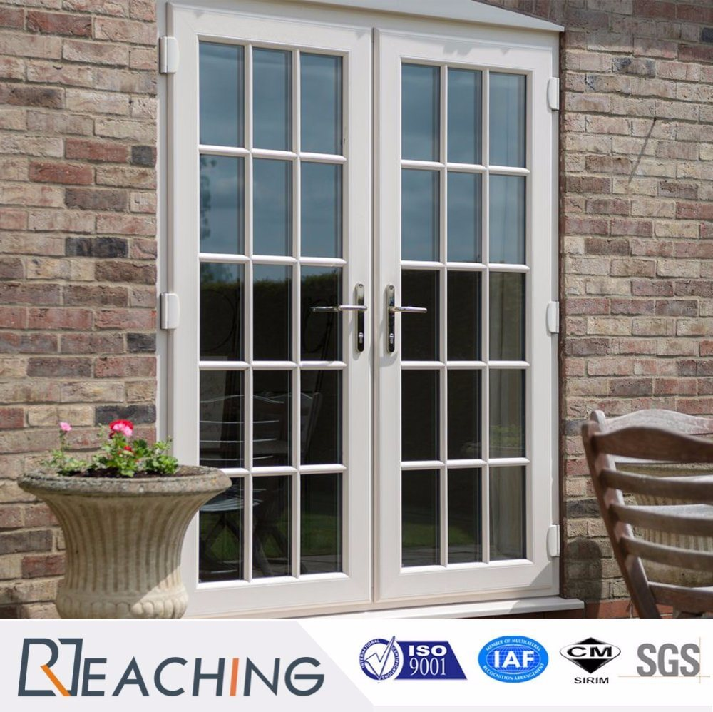 China Upvcpvc Double Glazing Casement Door Front Door Back Door