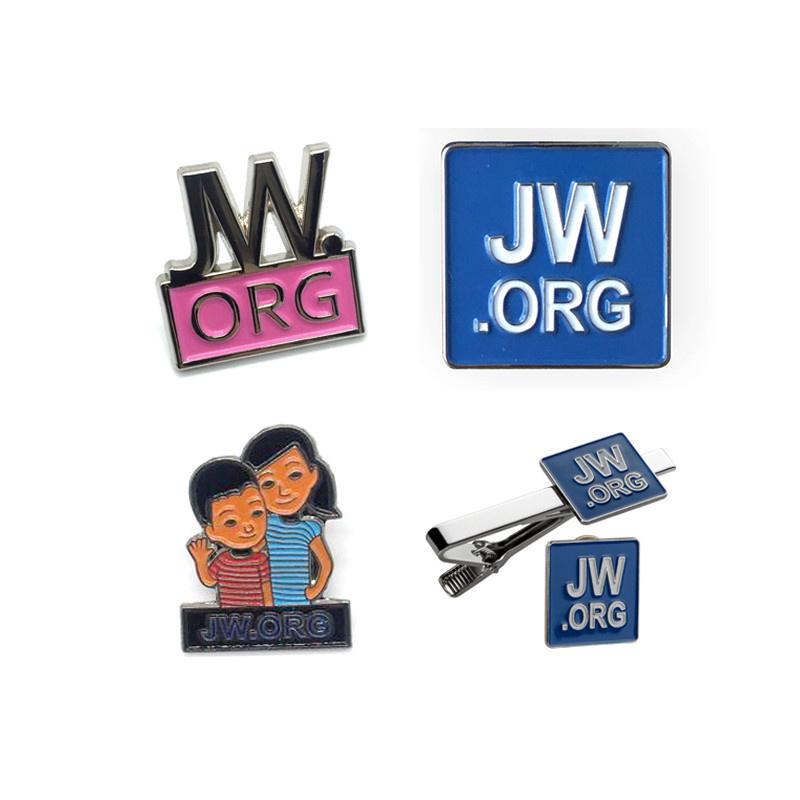 05f0da9db839 China Wholesale Jw. Org Tie Clip Enamel Tie Clips Metal Enamel Tie ...