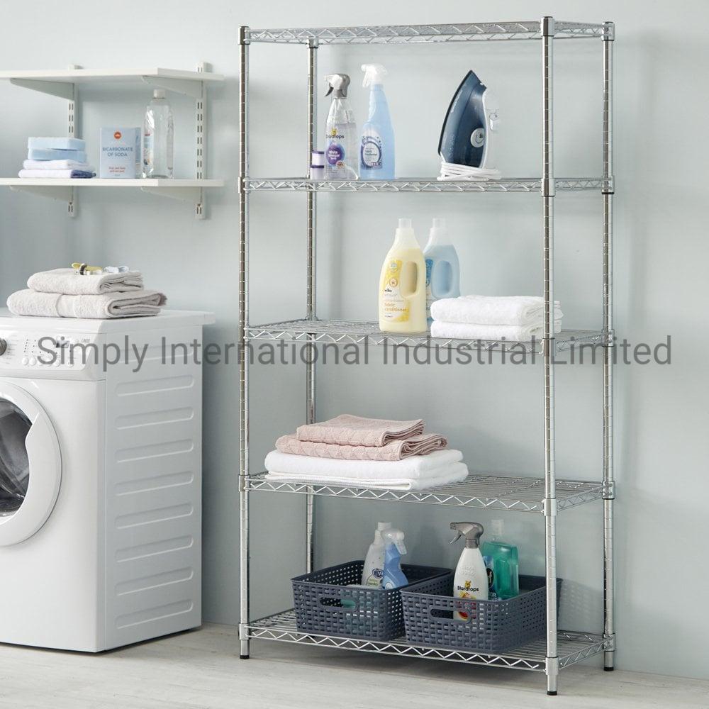 China 5 Tier Laundry Supplies Storage
