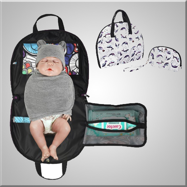 CUSTOM Baby Waterproof Changing Pad  CUSTOM Travel Changing Pad