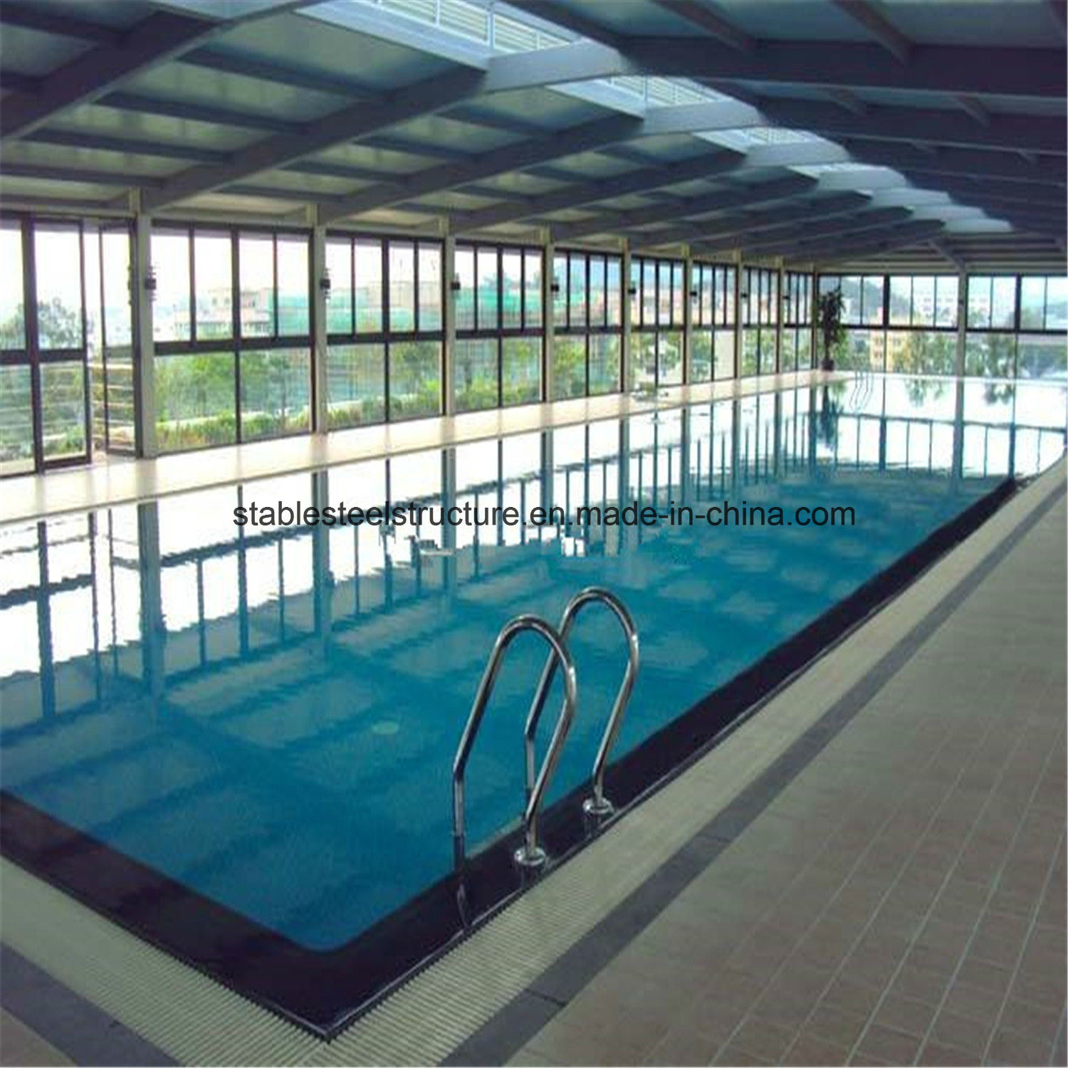 [Hot Item] Prefab Metal Structure Indoor Swimming Pool Bldgs for Sale