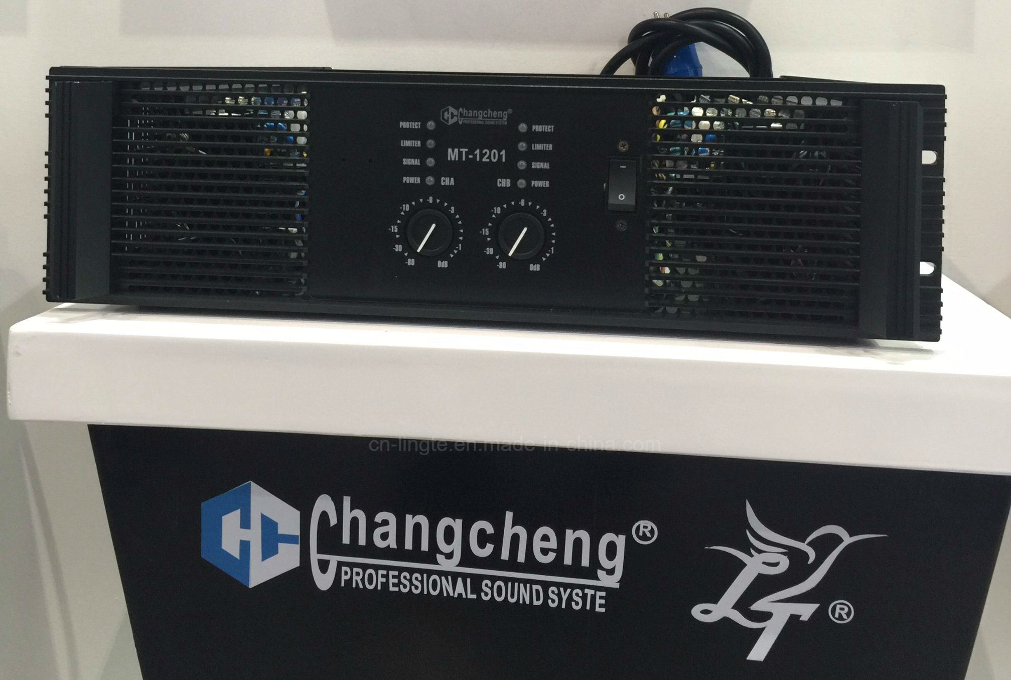 Mt1201 Professional Class H Hot Sell High Power Amplifier pictures & photos