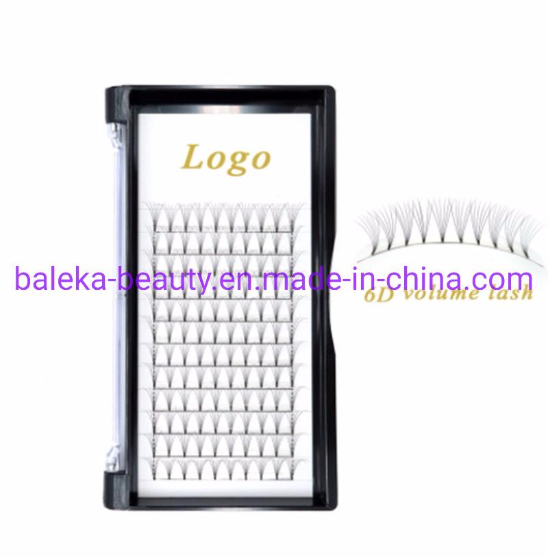 beb75e2e924 China Private Label Custom Packaging 0.07 0.10mm Pre-Made Russian Volume 10d  Flare Lashes - China Real Mink Eyelash, Silk Mink Eyelash