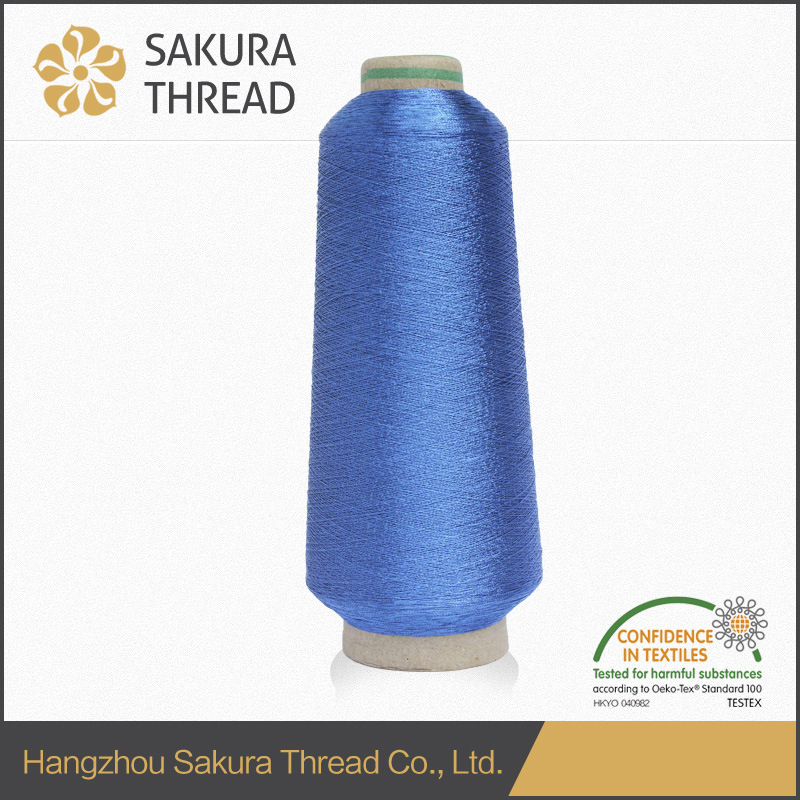 Sakura Free Sample ODM OEM Multicolor Metallic Yarn pictures & photos