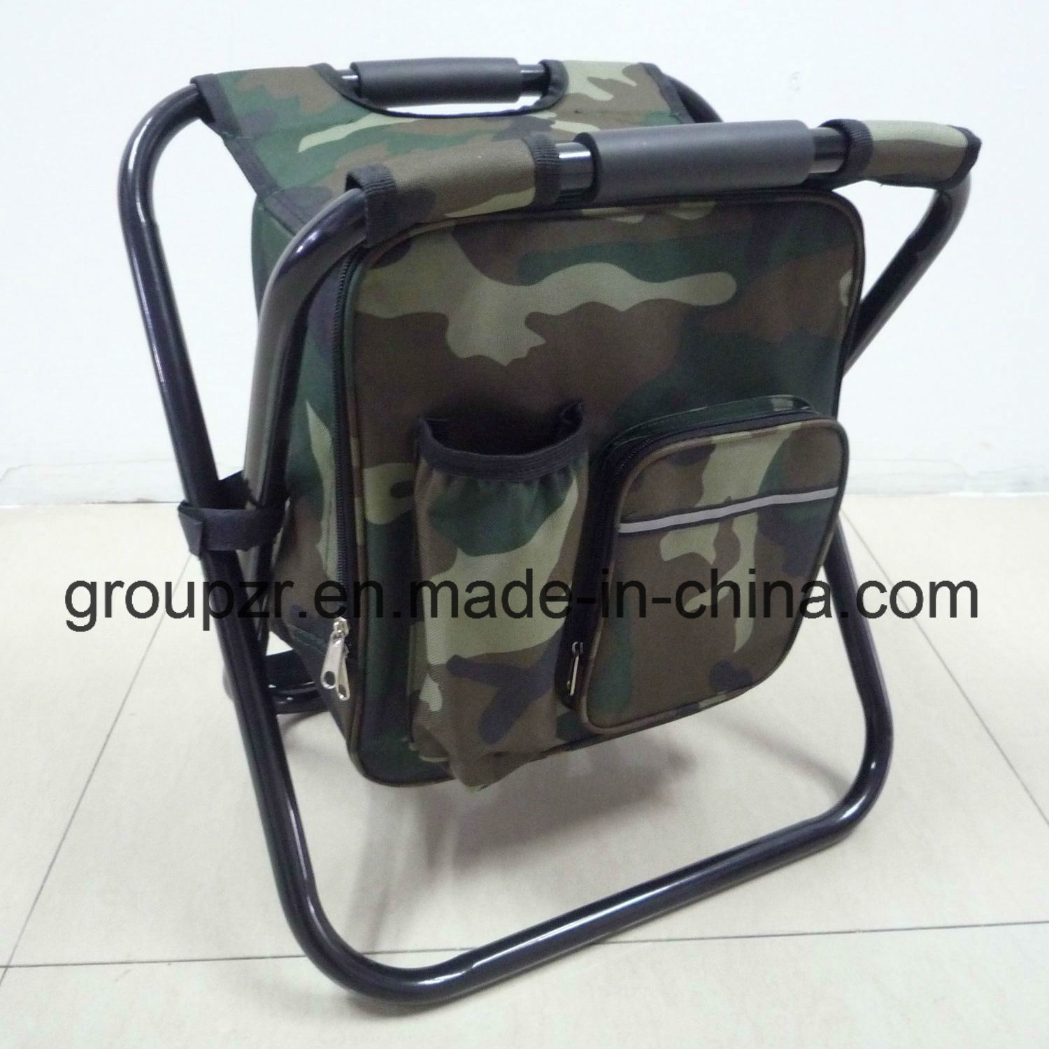 China Folding Chair with Cooler Bag Camping Chair for Fishing