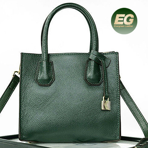 Ladies High-End Designer Cowhide Leather Bags Handbags Women OEM Factory in Guangzhou Emg4915