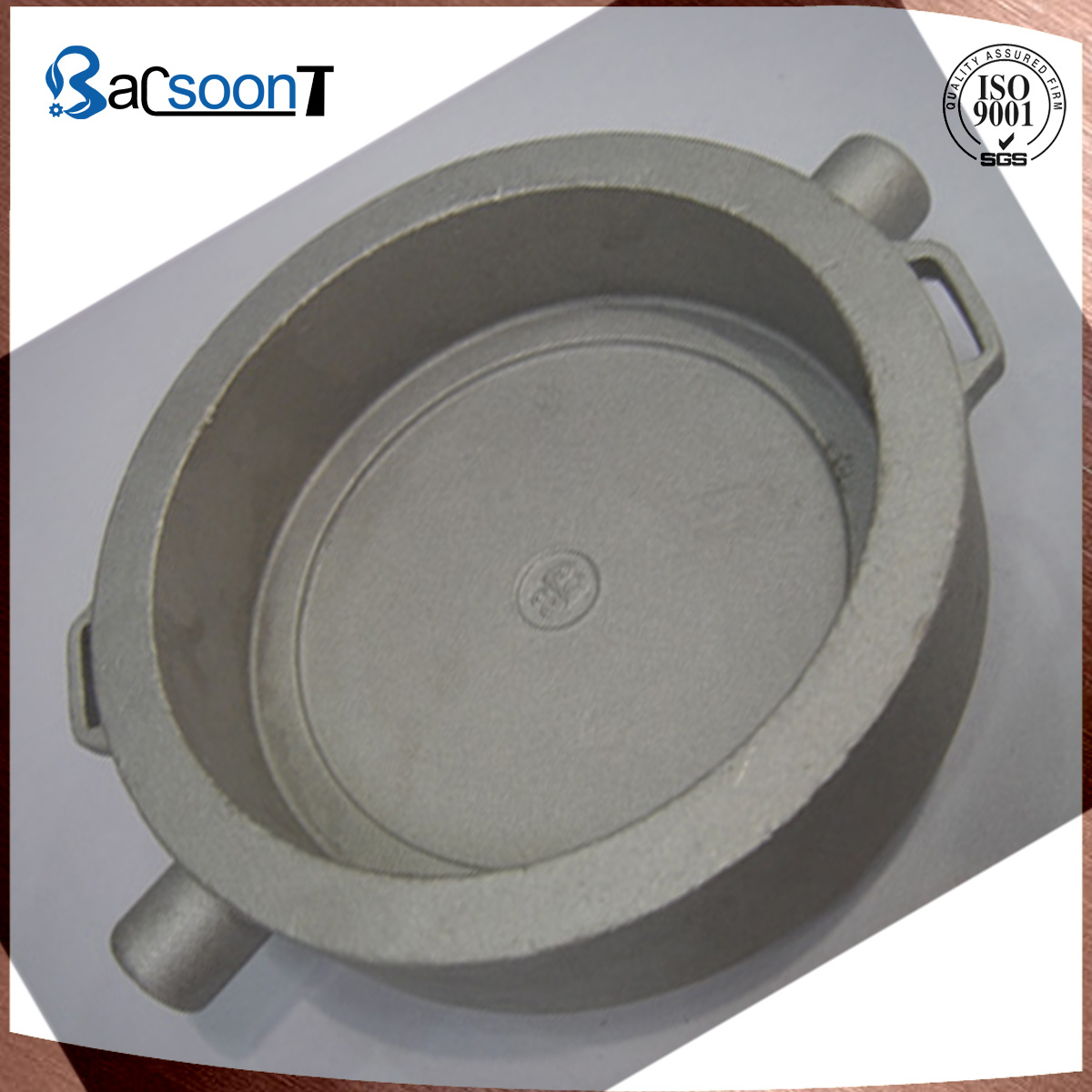 [Hot Item] Customized Lost Wax Casting Stainless Steel Cap with  Sandblasting in China