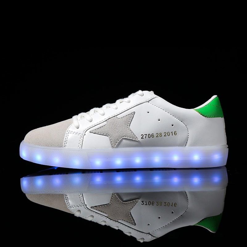 China LED Tube 8 Fashion Couple Women Sneakers Adults Men Flat LED Shoes -  China LED Shoes 6b495caa09
