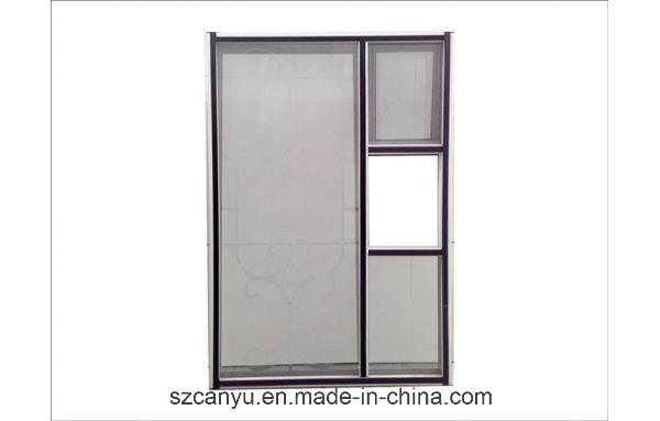 Magnetic Aluminium Fly Wire Mesh Melbourne Screen Window pictures & photos