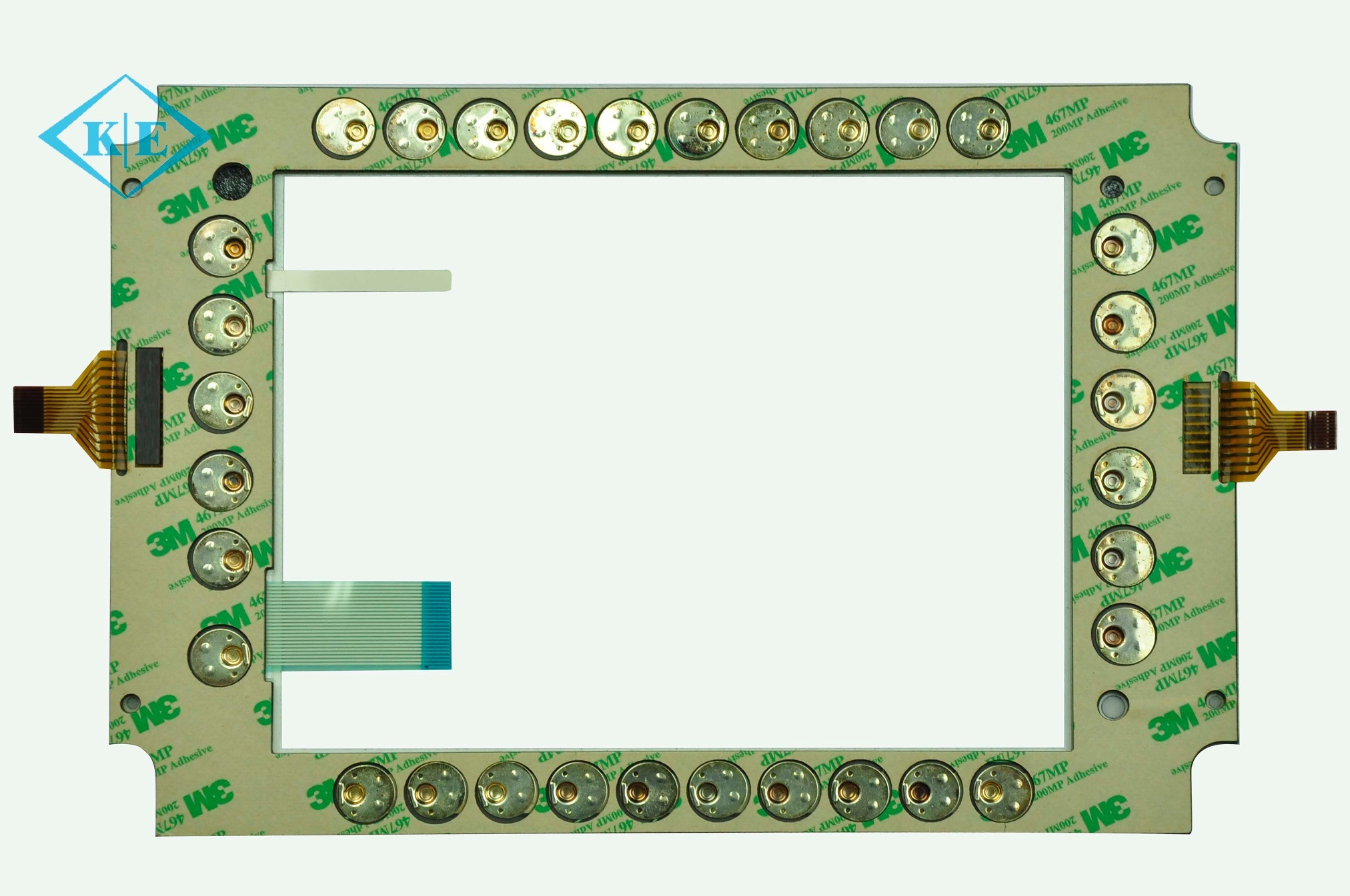 China Duraswitch Fpc Circuit Assembly Membrane Keypad Control With Keyboard Printed Board 3m Adhesive Keys