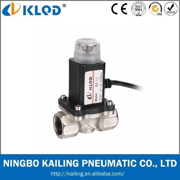 Low Price Micro Gas Cut off Solenoid Vlave DC 12V