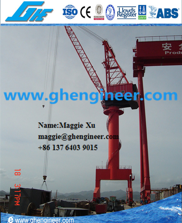 45t Mobile Cargo Cement Unloading Portal Crane pictures & photos