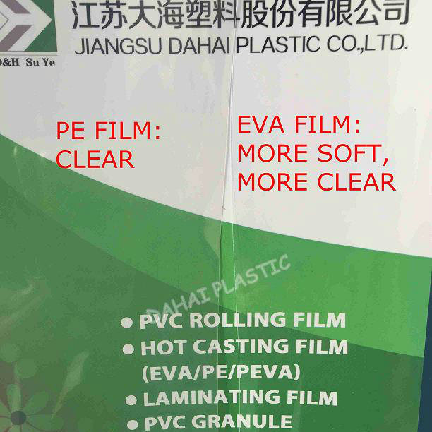0.10mm PE and EVA Clear Pleastic Film pictures & photos