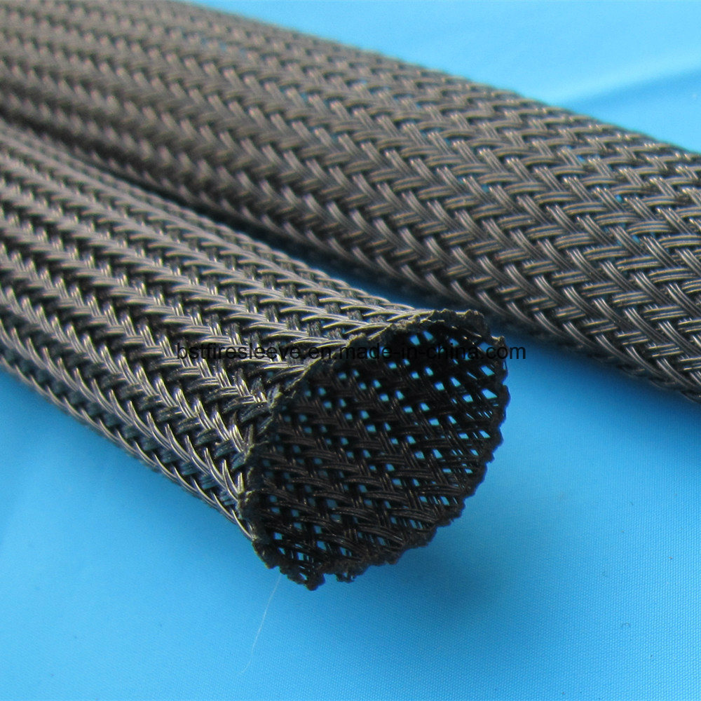 China Wire Cable Sheathing Pet Expandable Braided Sleeving - China ...