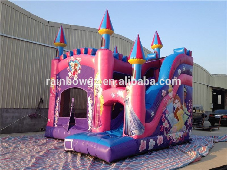 Famous Cartoon Design Inflatable Jumping Bouncer Slide Combo pictures & photos