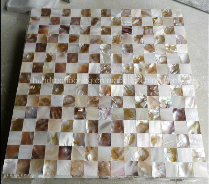Natural Mother of Pearl Shell Mosaic (HMP91)