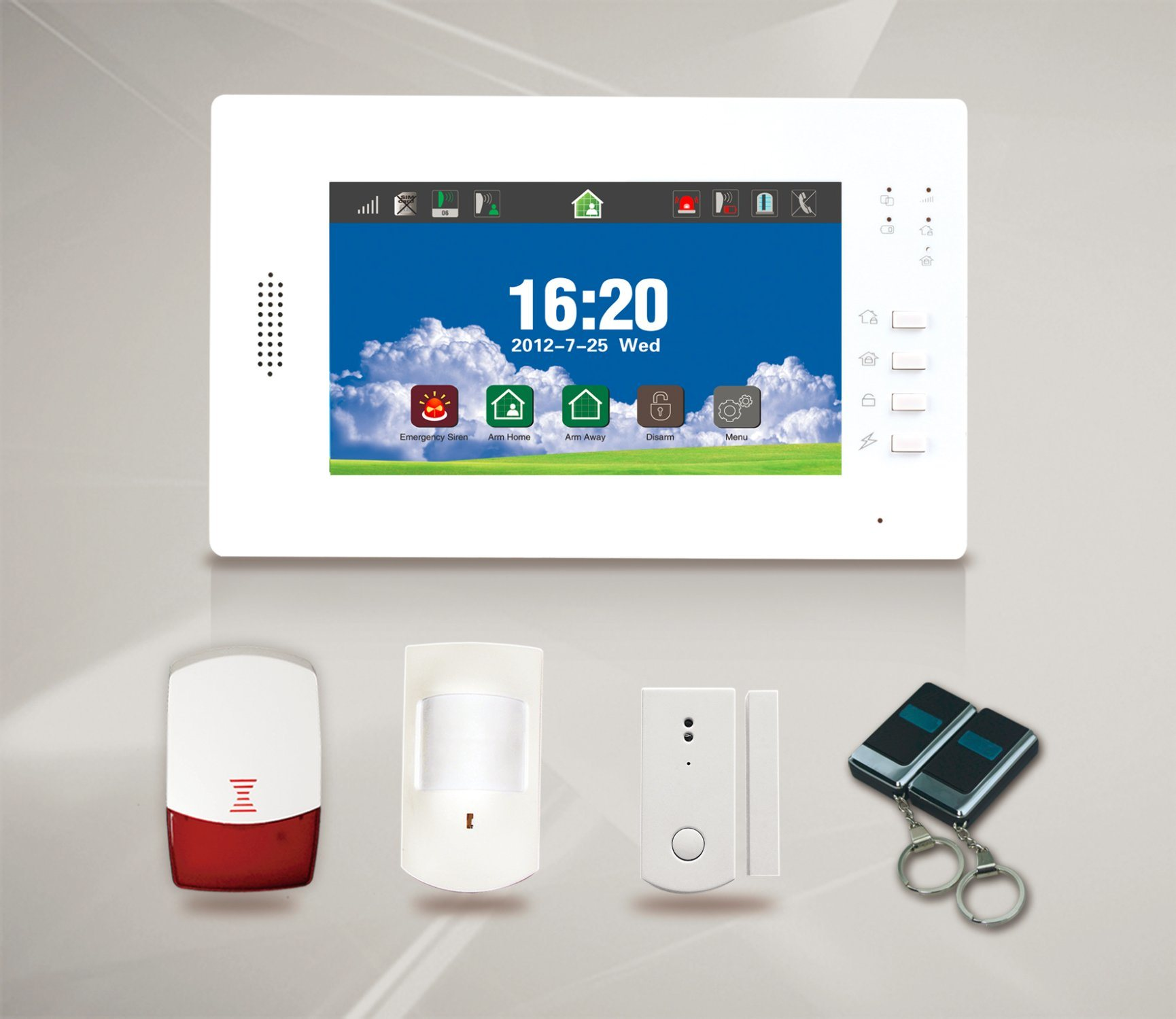 China Wired Wireless GSM Alarm System for Home Security (ES-X6 ...