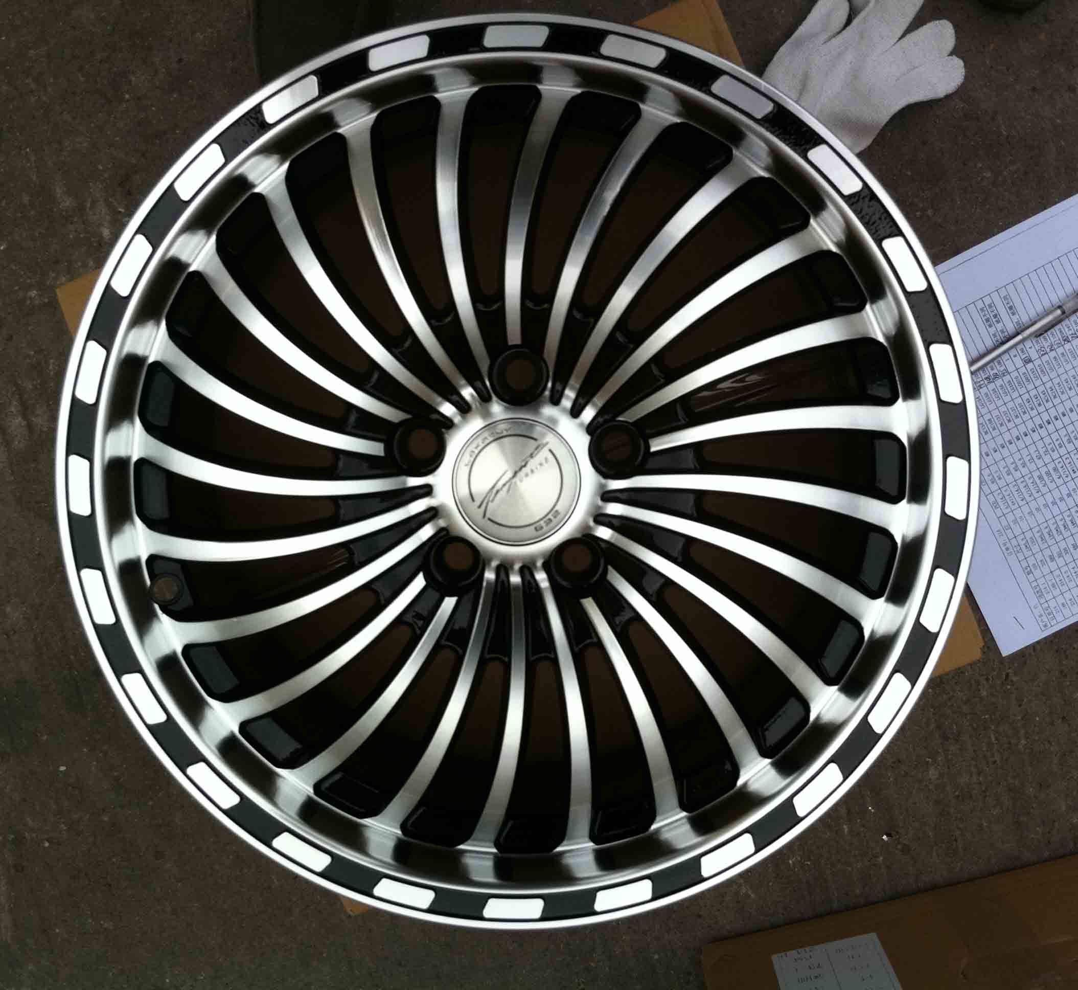 Aftermarket Alloy Wheel (KC523)