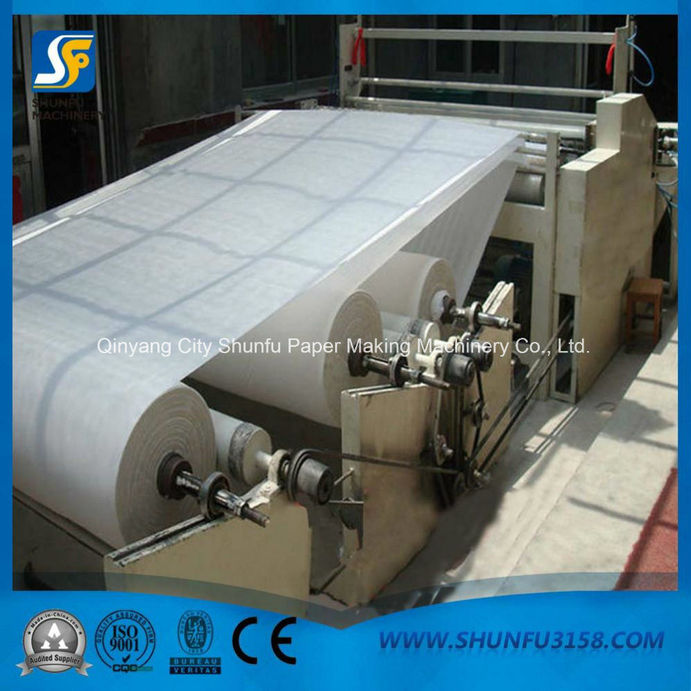 China Paper Rewinding Cutting Machine Toilet Paper Napkin Making ...