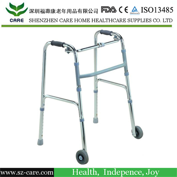 Groovy China Walker Front Wheels Folding Adult Heavy Duty Ibusinesslaw Wood Chair Design Ideas Ibusinesslaworg