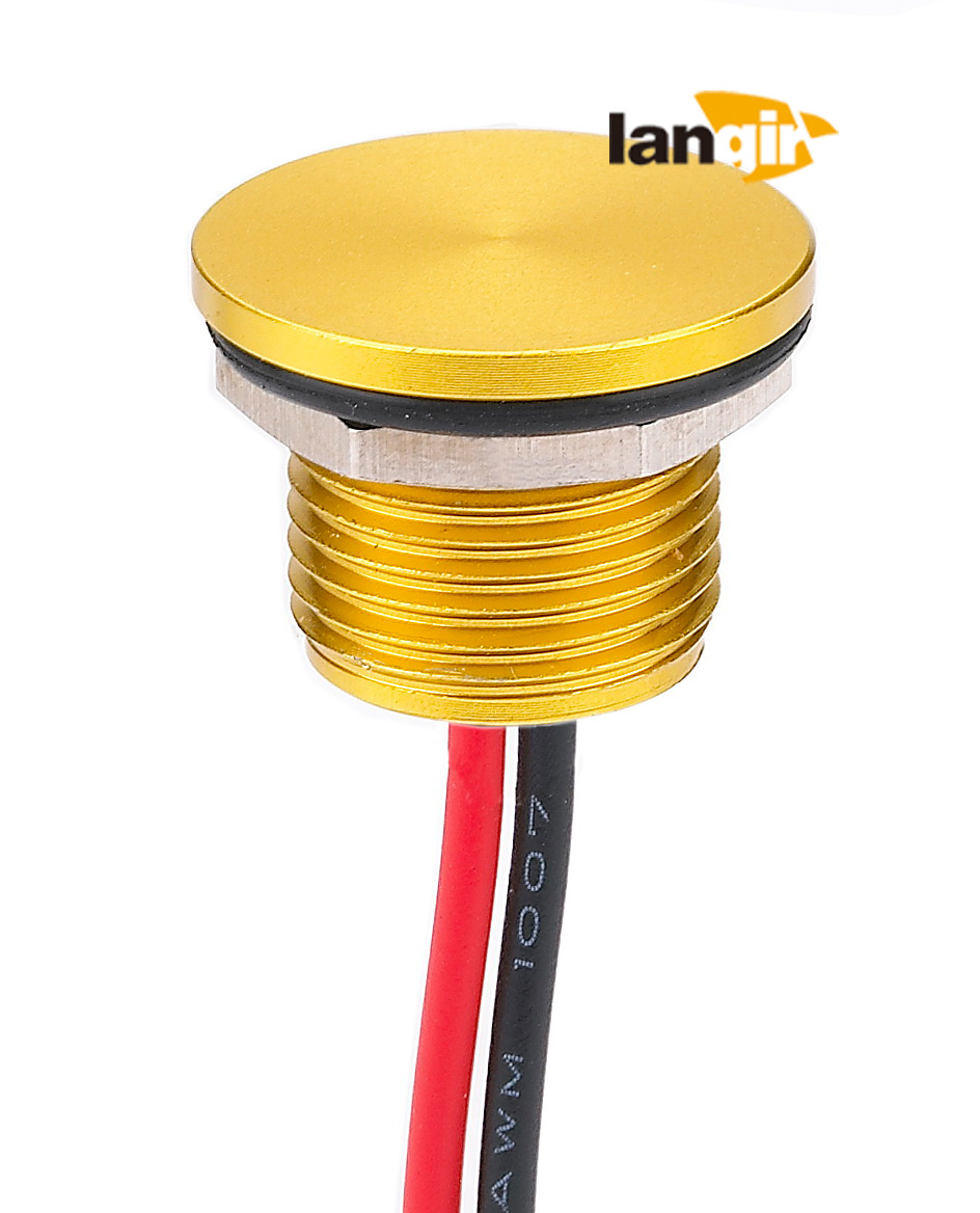 Langir 12mm Momentary Piezo Switch