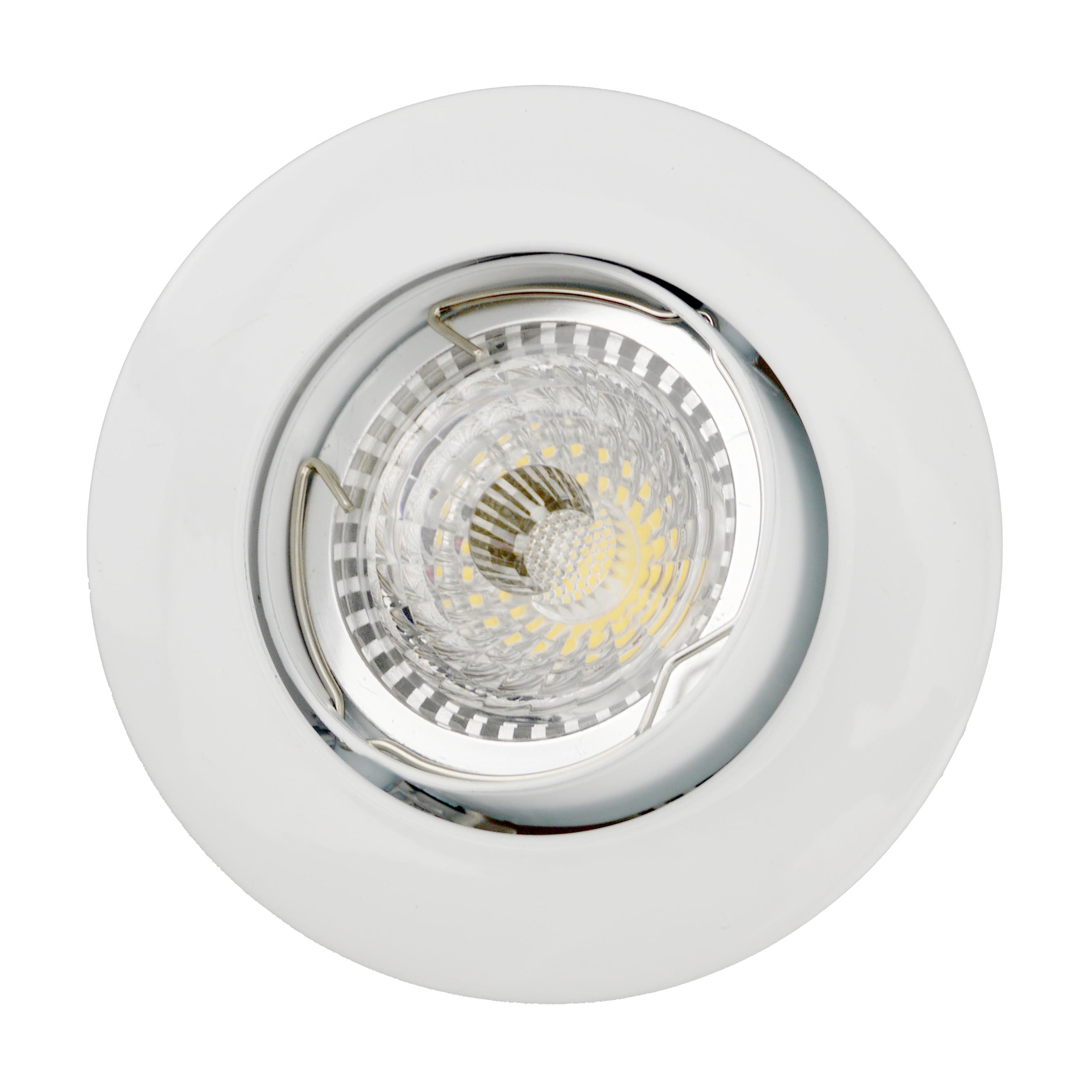 Die Casting Aluminum GU10 MR16 Round Tilt Recessed LED Spotlight (LT1202)