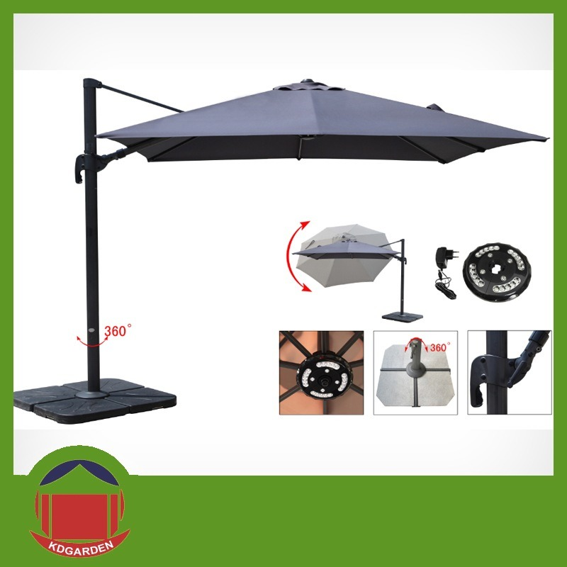 Side Post Outdoor Garden Umbrella