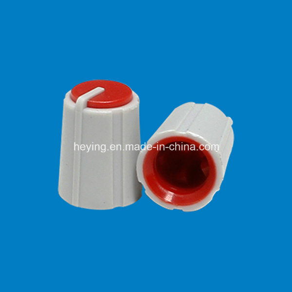 Plastic Doublecolored Mixer Knob and Button