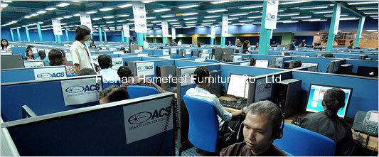 Call Center Computer Workstation Tables in Office Furniture (HF-GE01) pictures & photos