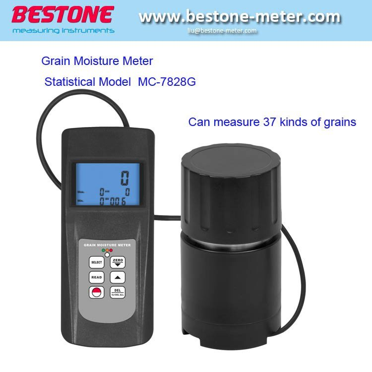 Digital Grain Moisture Meter tester Corn Wheat Seed Coffee,NEW MC-7825G