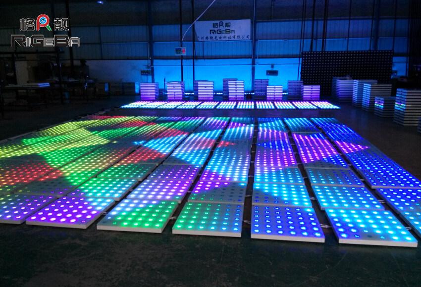 China Promotion Led Disco Dance Floor