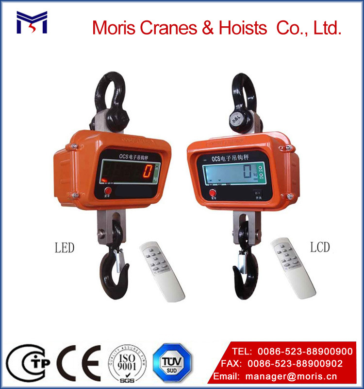 The Mini Digital Crane Hanging Scale with LED Display Charging