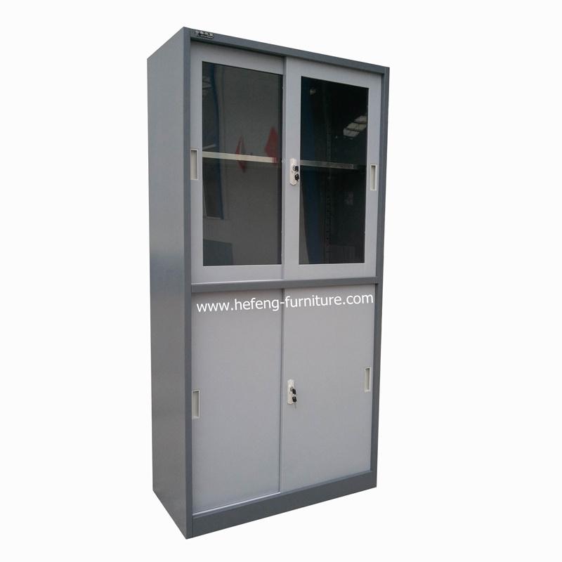 China Glass Sliding Door Cabinet