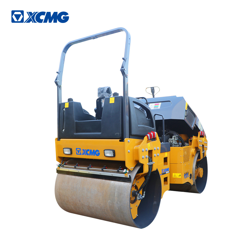 XCMG Official XS123 12 ton single drum vibratory road