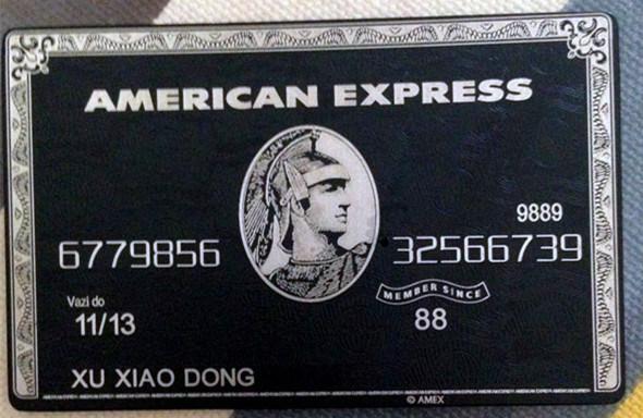 Carte American Express En Metal.Hot Item American Express Black Centurion Bank Card Metal Customise Yourself Great Gift