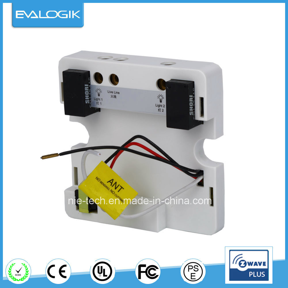 China Z-Wave in-Wall Switch (single live wire) for Home Automation ...
