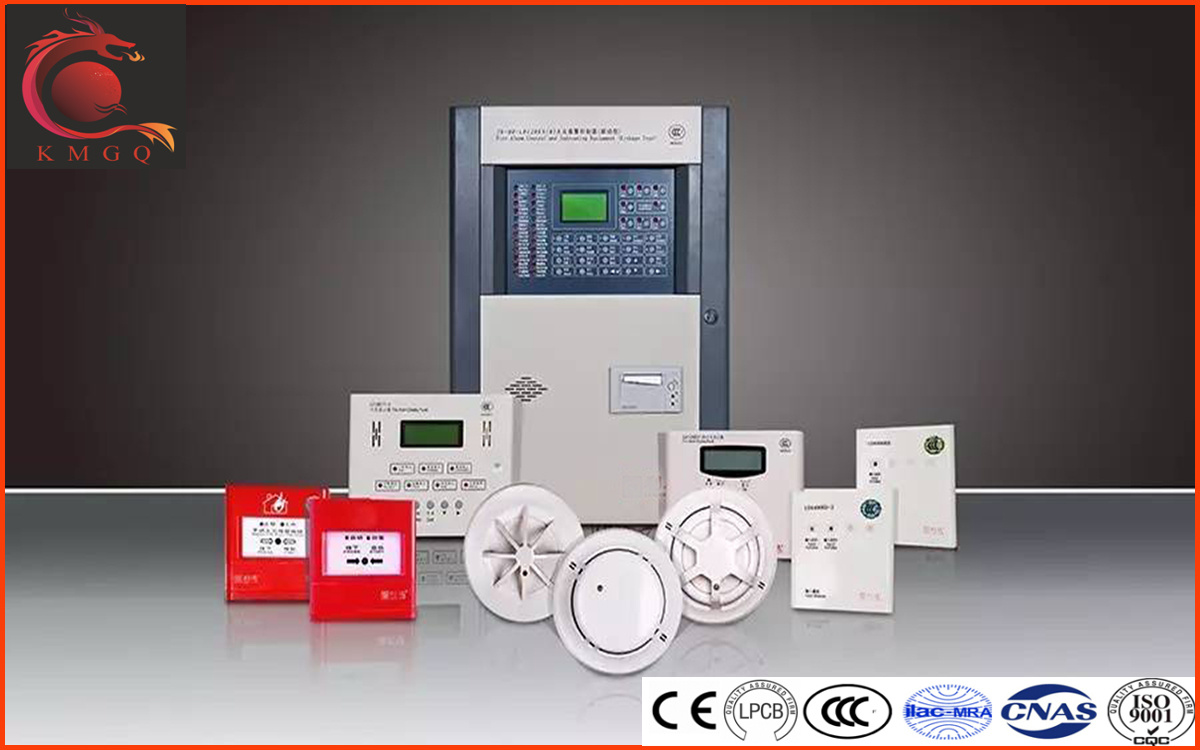 China Addressable Fire Alarm System Panel/ Controller/Linkage Type ...