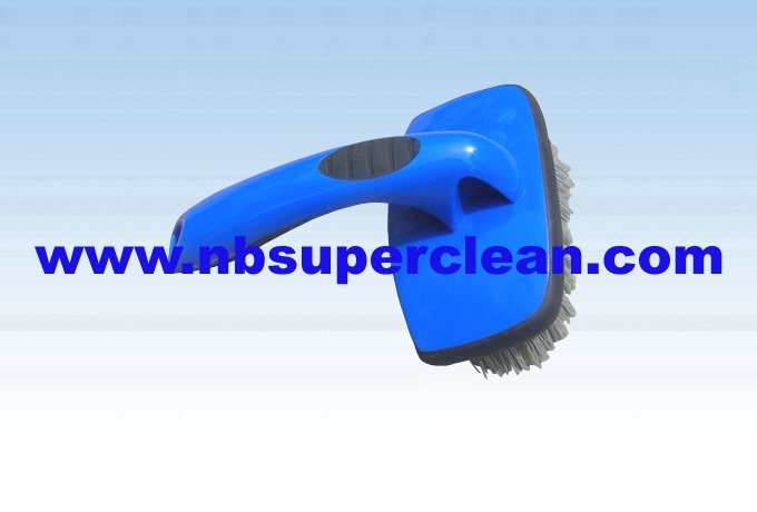 Plastic Car Cleaning Wheel Brush Tyre Brush (CN1846)